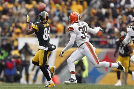 Antonio Brown, Tashaun Gipson