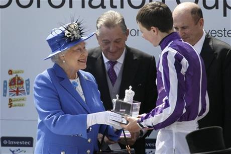 Queen Elizabeth II, Joseph O'Brien