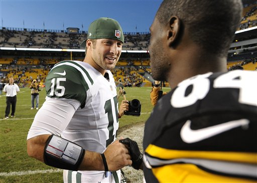 Tim Tebow,  Antonio Brown