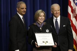 Joe Biden, Krista McDonald, Eric Holder