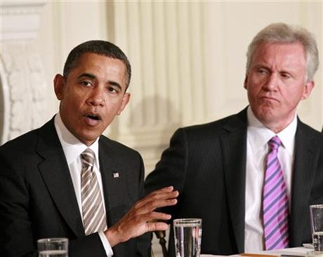 Barack Obama, Jeff Immelt