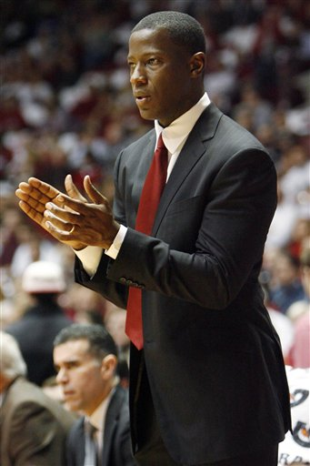 Alabama Coach Anthony Grant