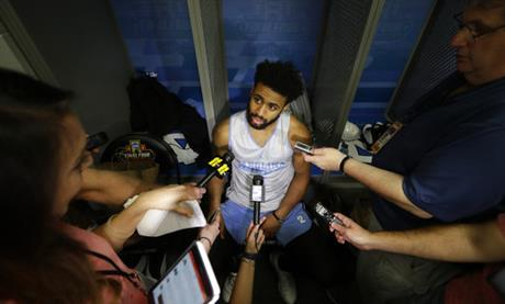 Berry's injuries give Tar Heels familiar drama at Final Four