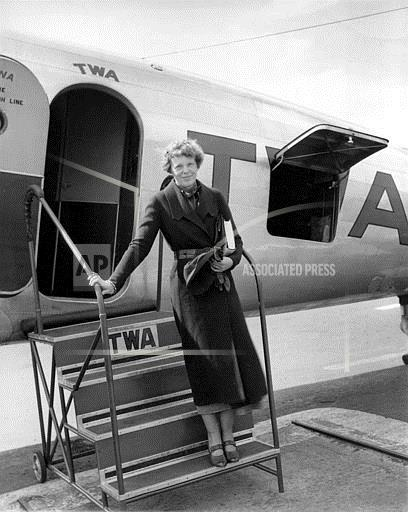 Associated Press Domestic News New Jersey United States AMELIA EARHART