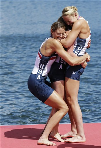 APTOPIX London Olympics Rowing Women