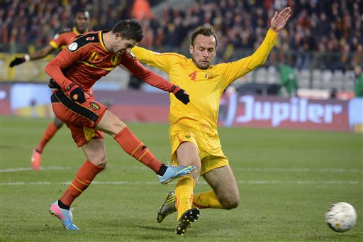 Noveski was named the footballer of the year for 2013; photo: ap.org