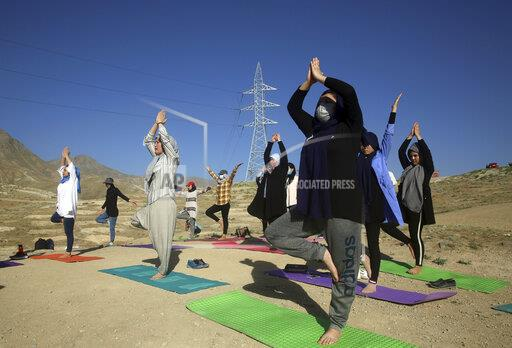 Afghanistan International Yoga Day
