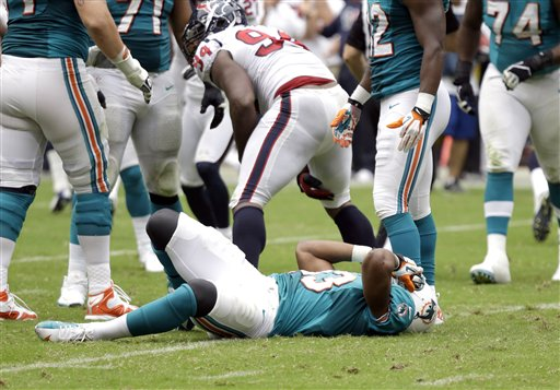 Dolphins Texans Football