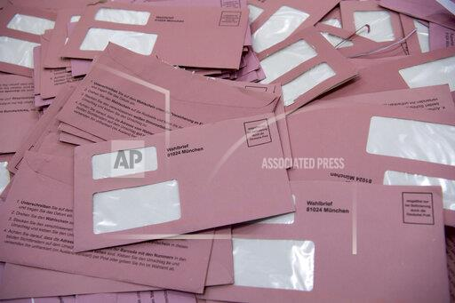 Local Election Bavaria - Counting postal vote