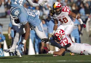 Maryland North Carolina Football
