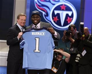 Chance Warmack, Roger Goodell