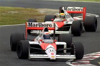 Alain Prost, Ayrton Senna