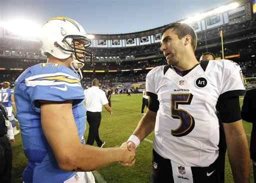 Philip Rivers, Joe Flacco