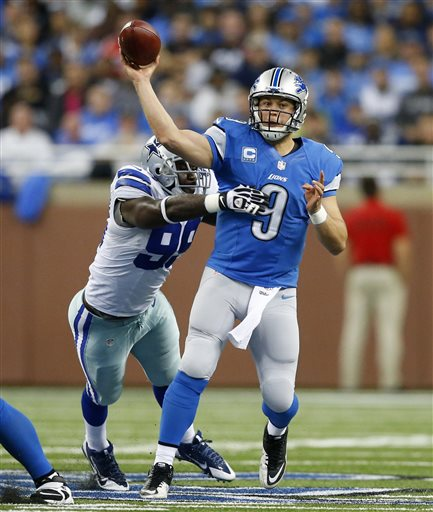 Matthew Stafford, George Selvie