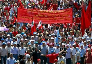 Mideast Lebanon May Day