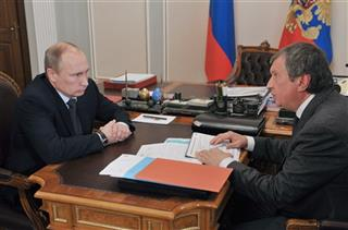 Vladimir Putin, Igor Sechin