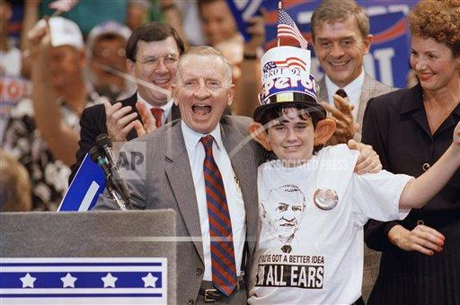 Watchf AP A  FL USA APHS247517 Ross Perot and Kevin Grace