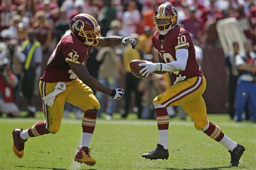 Robert Griffin III,  Alfred Morris