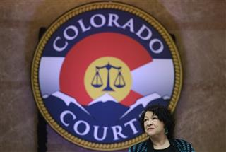 Sotomayor visited  new Ralph L. Carr Colorado Judicial Center in Denver