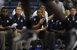 Kevin Ollie, George Blaney, Glen Miller, Kevin Freeman