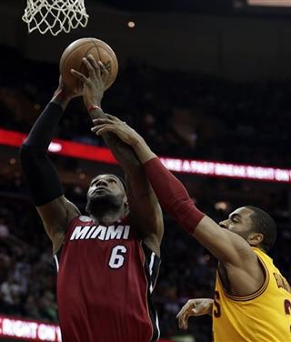 LeBron James, Wayne Ellington