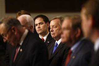 Marco Rubio, Charles Schumer, ohn McCain, Jeff Flake, Richard Durbin, Robert Menendez