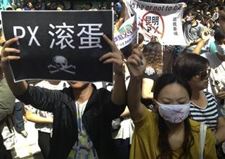 China Environmental Protest