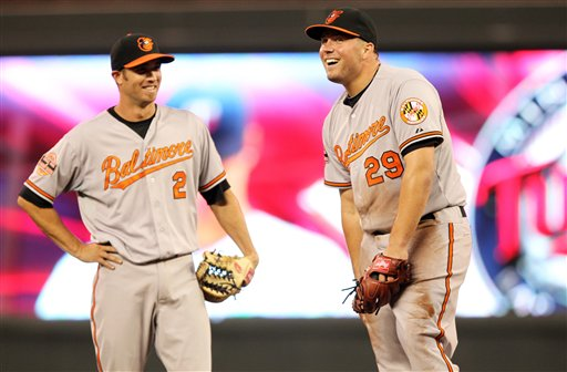 Tommy Hunter, J.J. Hardy