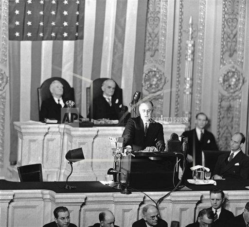 Watchf AP A  DC USA APHS252284 FDR Defends New Deal 1936