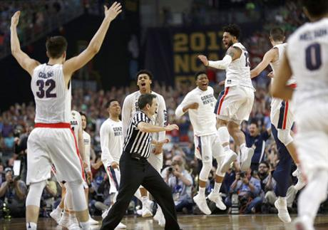 Final Four South Carolina Gonzaga Basketball