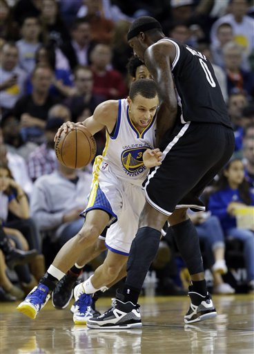 Stephen Curry, Andray Blatche