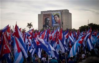 APTOPIX Cuba May Day