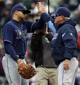 James Loney, Joe Maddon
