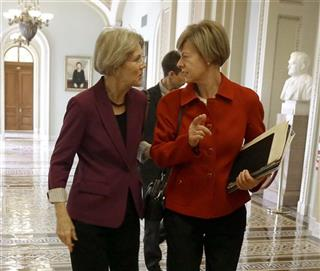 Elizabeth Warren, Tammy Baldwin