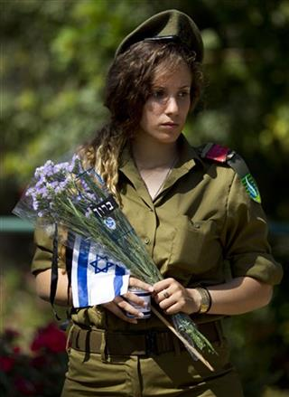 APTOPIX Mideast Israel Memorial Day