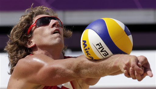 APTOPIX London Olympics Beach Volleyball Men
