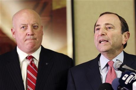 Gary Bettman, Bill Daly
