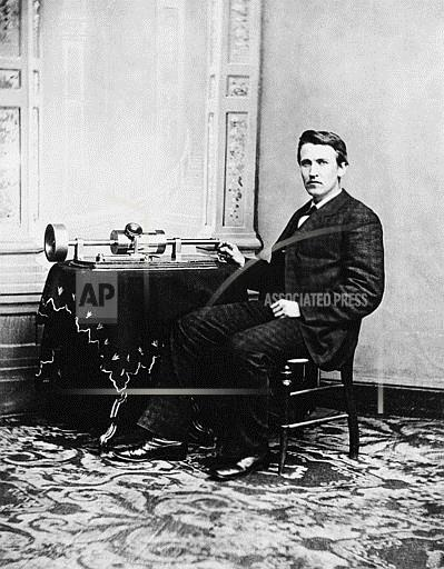 Associated Press Domestic News Dist. of Columbia United States EDISON PHONOGRAPH