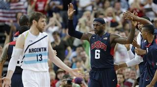 LeBron James, Andres Nocioni