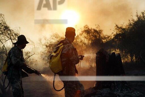 Paraguay Fires