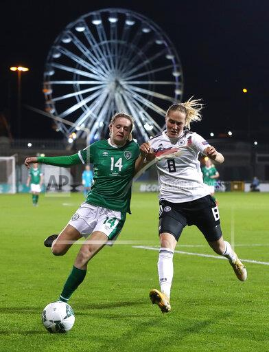 Republic of Ireland v Germany - UEFA Women's Euro 2021 Qualifying - Group I - Tallaght Stadium