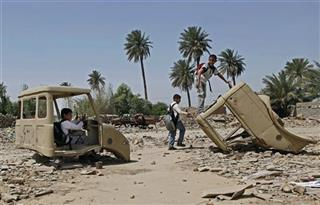 Mideast Iraq Fall of Baghdad