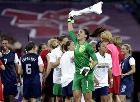 Hope Solo, Lauren Cheney