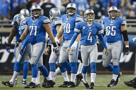 Jason Hanson, Jason Fox, Riley Reiff, Dylan Gandy