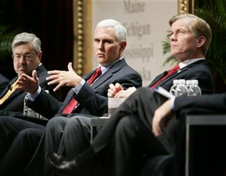 Mike Pence, Bob McDonnell, Terry Branstad