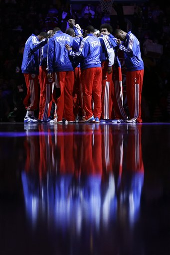 Thunder 76ers Basketball