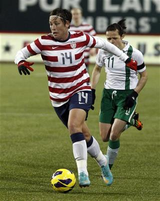 Abby Wambach, Aine O&#039;Gorman