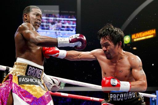 Pacquiao Broner Boxing