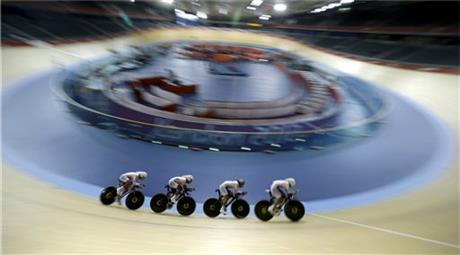 APTOPIX London Olympics Cycling Men
