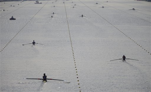 APTOPIX London Olympics Rowing
